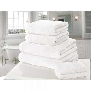 White So Soft Face Towel