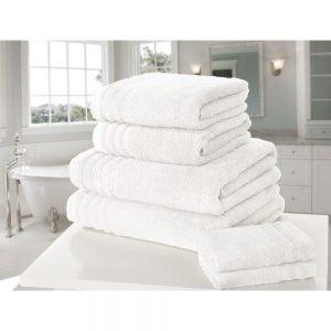 White So Soft Face Towel