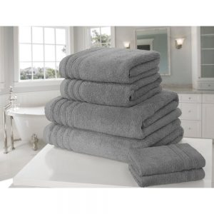 Charcoal So Soft Hand Towel