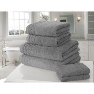 Charcoal So Soft Hand Towel