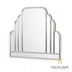 Odessa Manhattan Mirror Silver Leaf
