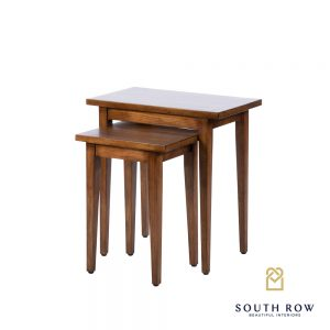 Chloe Nest of 2 Tables Walnut