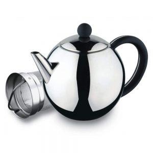 Grunwerg Rondo 1L Teapot With Infuser Basket