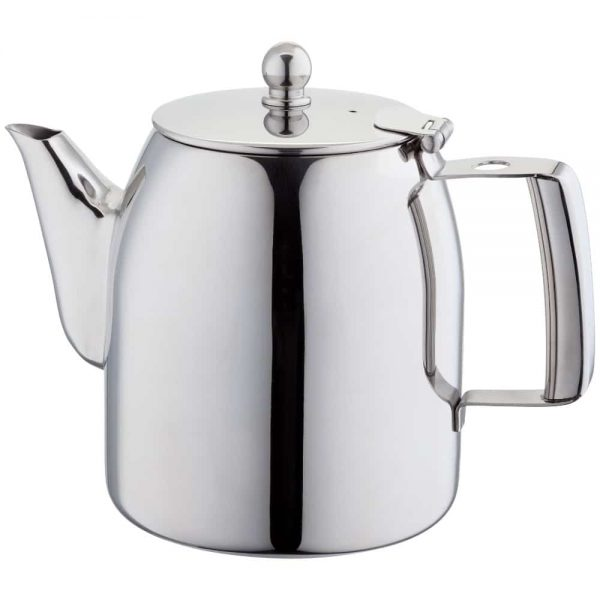Stellar Stainless Steel Continental 8 Cup Teapot