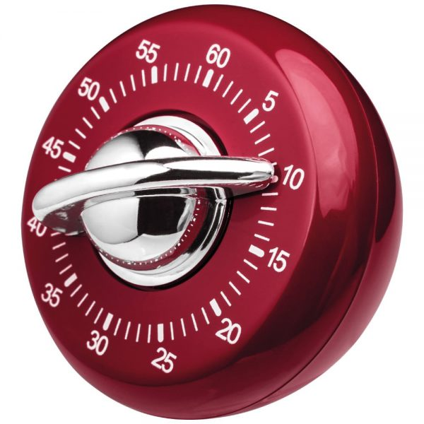 Judge Classic Red Kitchen Timer