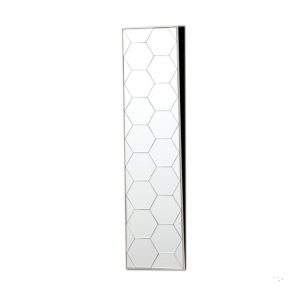 Gia Hex Slim Mirror Art