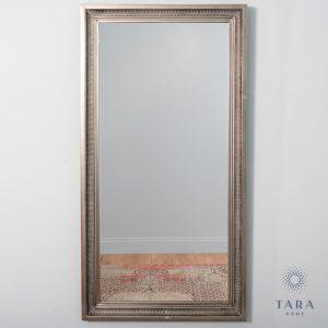 Bordeaux Leaner Mirror Antique Silver