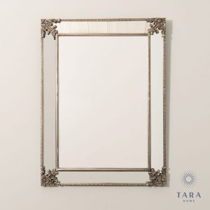 Venetian Large Silver Wall Mirror