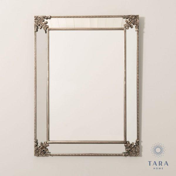 Venetian Large Silver Wall Mirror
