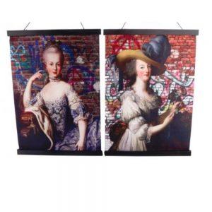 Boho Marie Antoinette Wall Art
