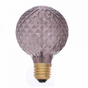 Bevel Cut Smoked Light Bulb 40w E27