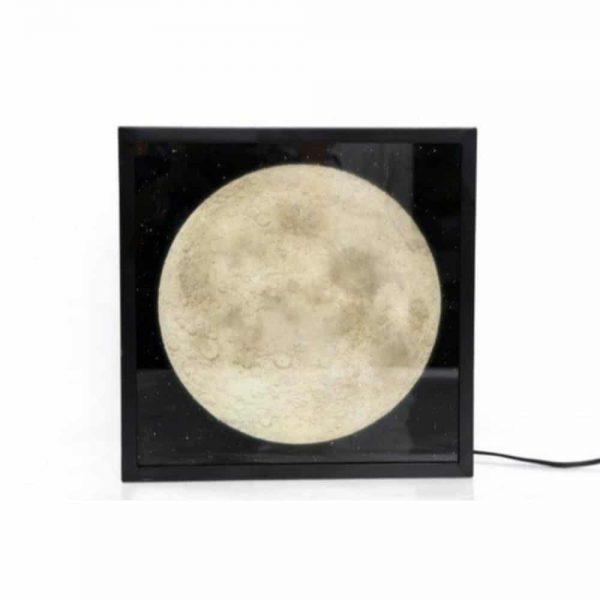 Moon Light Box with Plug