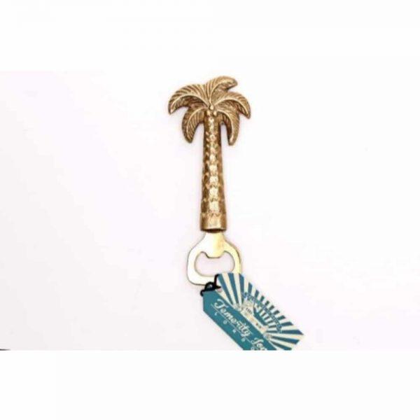 Gold Palm Tree Bottle Opener