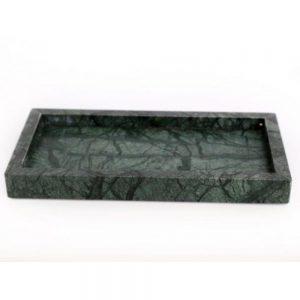 Boho Green and Black Marble Tray 30x15x3cm