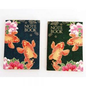 A6 Koi Fish Notepad