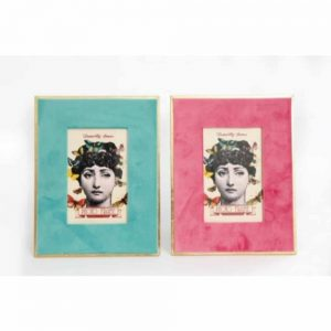 4x6in Mademoiselle Velvet Photo Frame