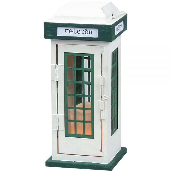 Telephone Lantern Small (Candle Not Included)