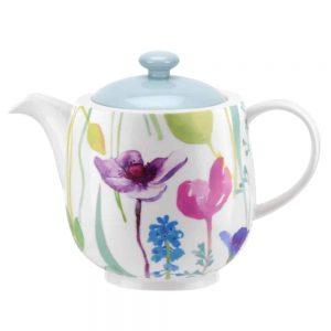 Portmeirion Water Garden Ceramic Teapot 1.35L