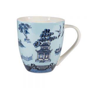 Blue Willow Crush Mug Blue 500ml