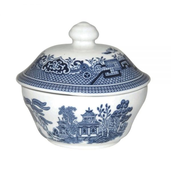 Blue Willow Sugar Bowl 160ml