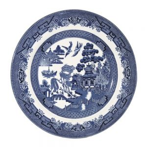 Blue Willow Salad Plate 20cm