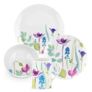 Portmeirion Water Garden 16 Piece Tableware Set