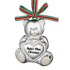 Teddy Bear Babys First Christmas