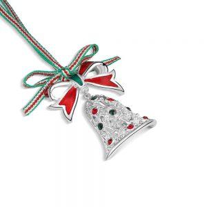 Newbridge Christmas Bell with Bow decoration