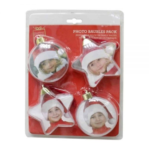 Baubles for Photo Inserts 4 Piece