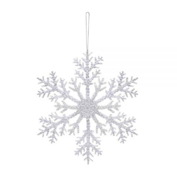 Acrylic Hanging Snowflake 21cm