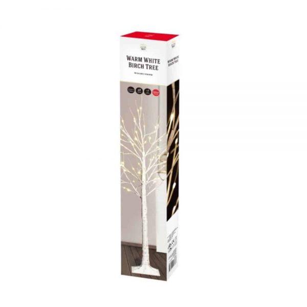 Led Birch Tree 120cm Warm White