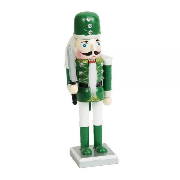 Green Nutcracker Soldier 24cm