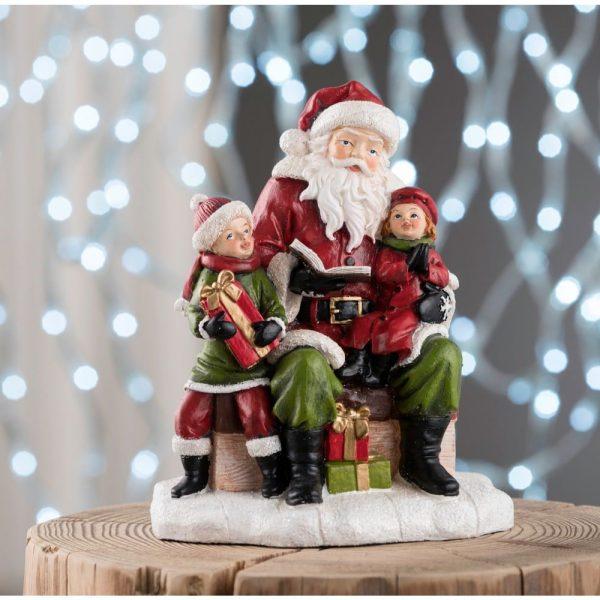 Santa Reading a Story