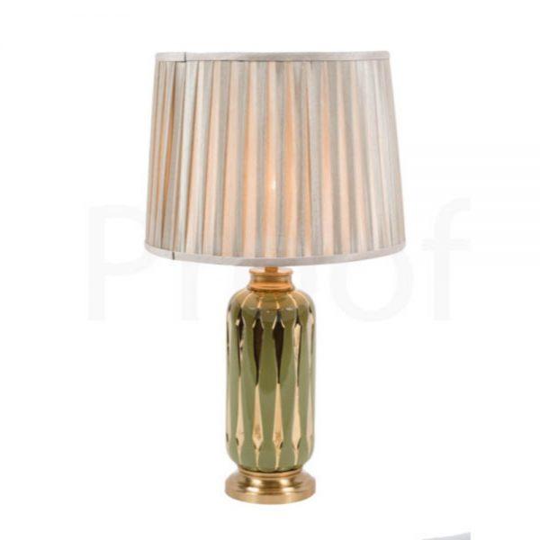 Avant Garde Table Lamp & Shade H65x38cm