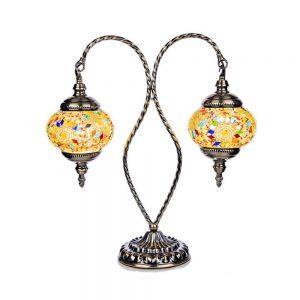 Mosaic 2 Arm Lamp