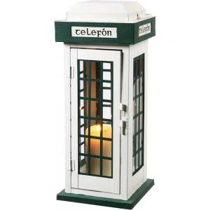 Classic Irish Telefon Box Lantern 40Cm