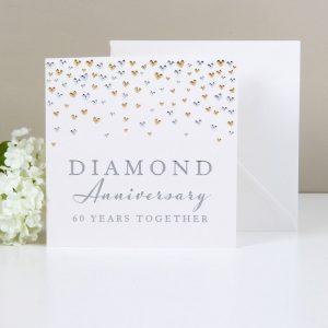Amore Deluxe Card Diamond Anniversary