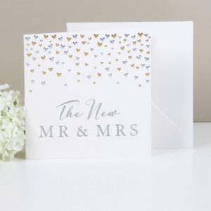 Amore Deluxe Card The New Mr and Mrs