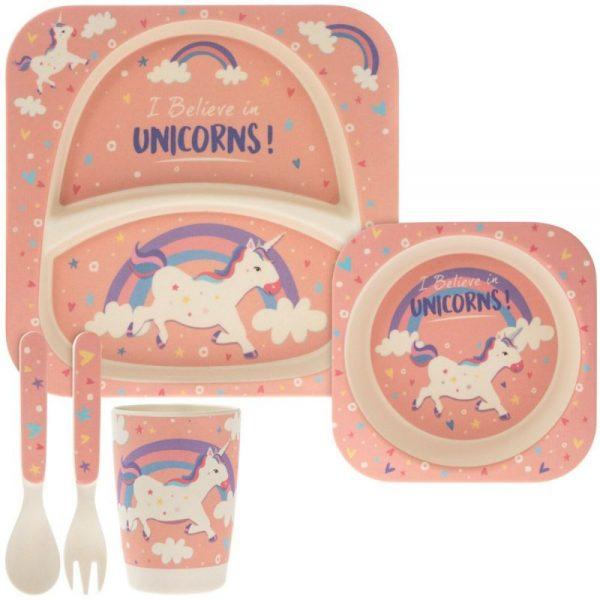 Unicorn Eating Set