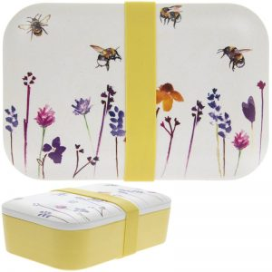 Bamboo Eco Lunch Box Bees
