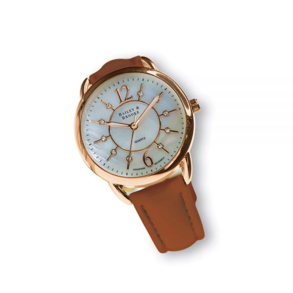 Bailey and Brooke Infinity Rose Gold Watch