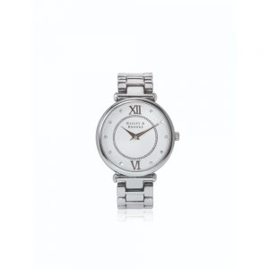 Bailey and Brooke Timeless Silver Ladies Watch