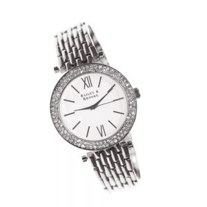 Bailey and Brooke Tempo Silver Ladies Watch