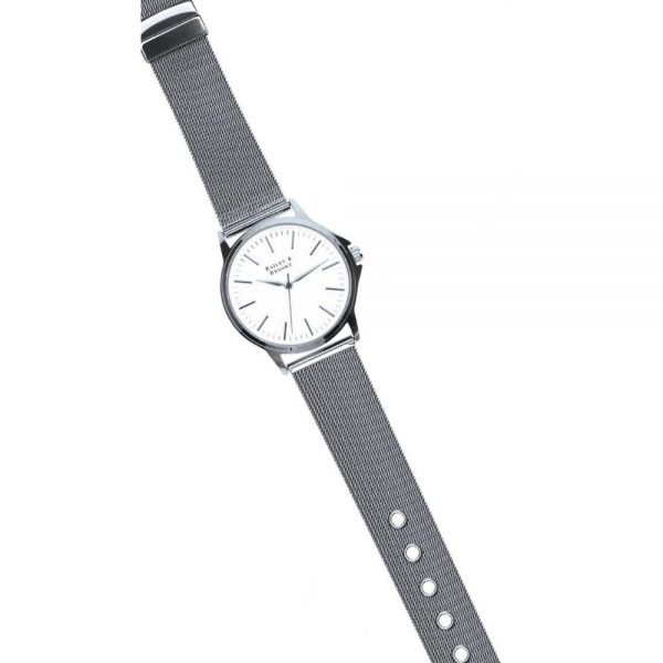 Bailey and Brooke Stage Silver Ladies Watch