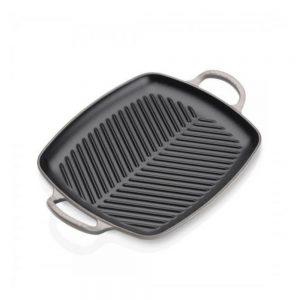 Le Creuset Shallow Rectangular Grill 30cm Flint