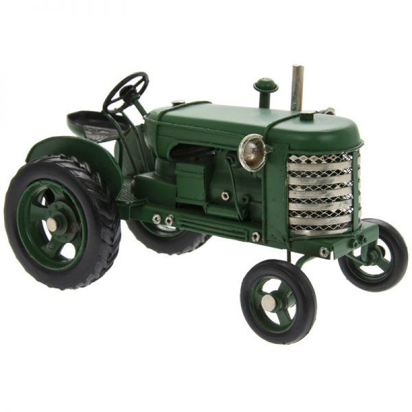 Vintage Green Tractor