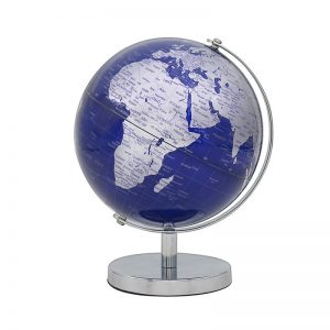 Globe Silver and Blue