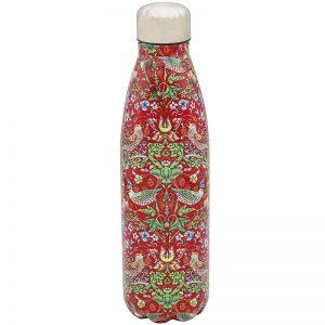 Strawberry Thief Red Drink Bottle