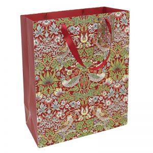Strawberry Thief Gift Bag