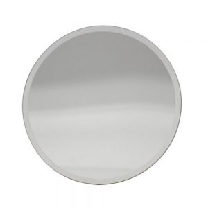 Mirror Candle Plate 10cm
